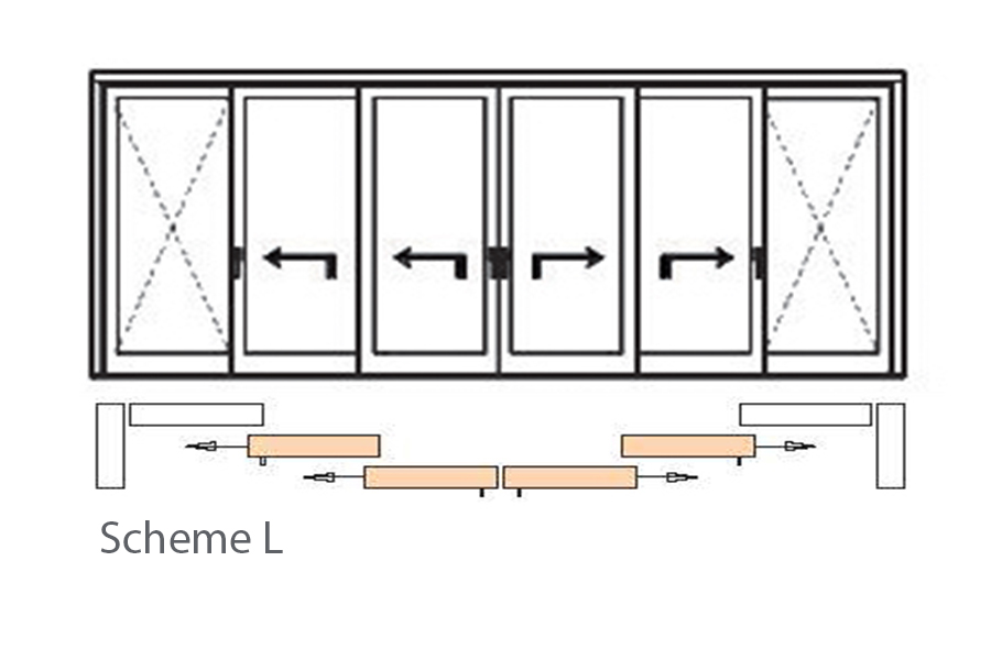 Scheme L - from centre