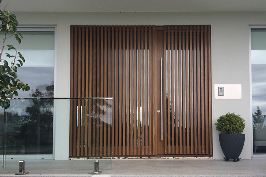Entrance Doors Timber
